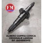 Albero coppia conica originale Landini - 1824680M3