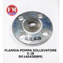 Flangia pompa sollevatore Landini - 1424368M1