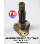 Albero frizione centrale - 569512