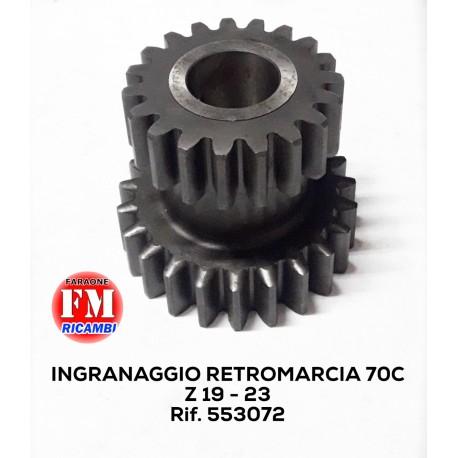 Ingranaggio retromarcia  Fiat 70C - 553072