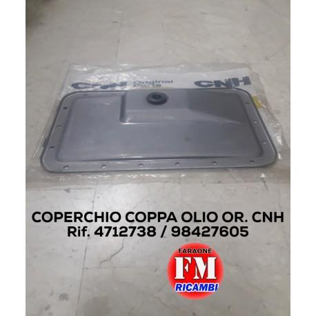 Coperchio coppa olio originale CNH - 4712738 / 98427605