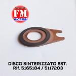 Disco sinterizzato est. - 5165184 / 5117203