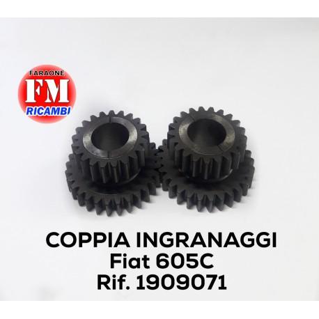 Coppia ingranaggi Fiat 605 - 1909071