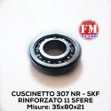Cuscinetto 307 NR - SKF rinforzato 11 sfere