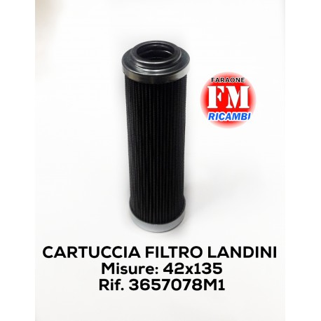 Cartuccia filtro Landini - 3657078M1