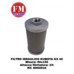 Filtro idraulico Kubota KX40 - SH60916