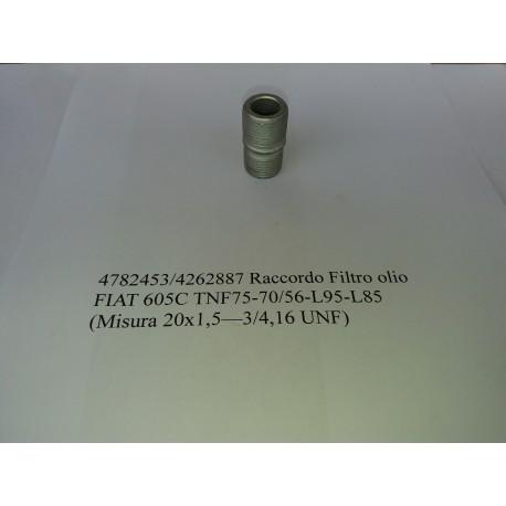 Raccordo filtro olio FIAT 605 C