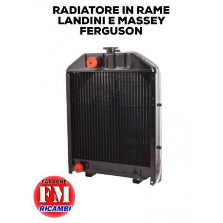 Radiatore in rame Landini e Massey Ferguson
