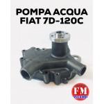 Pompa acqua Fiat 7D-120C