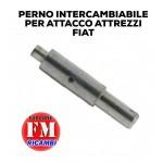 Perno intercambiabile per attacco attrezzi Fiat 605C