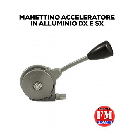 Manettino acceleratore in alluminio Dx e Sx