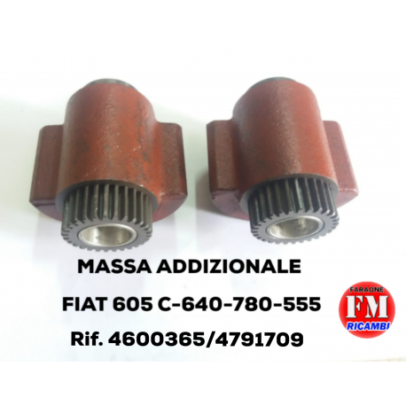 Massa addizionale Fiat 605C-640-780-555