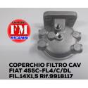 Coperchio filtro cav