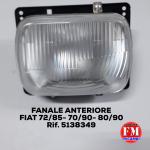 Fanale anteriore Fiat 72/85- 70/90- 80/90