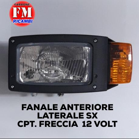 Fanale anteriore laterale sx cpt. freccia 12 volt