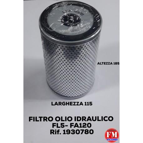 Filtro olio idraulico FL5 - FA120