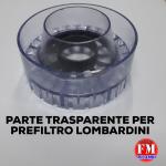 Parte trasparente per prefiltro (Lombardini)