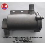 Corpo filtro olio idraulico cpt. coperchio originale Landini