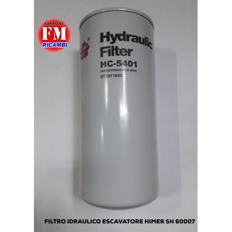 Filtro idraulico escavatore Himer SH 600007
