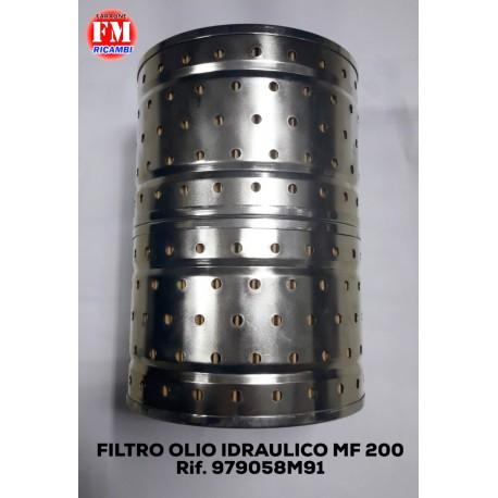 Filtro olio idraulico MF 200