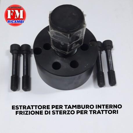 Estrattore per tamburo interno frizione di sterzo per trattori
