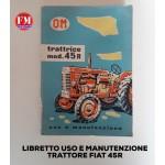 Libretto uso e manutenzione 45R