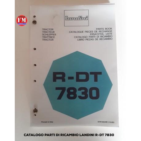 Catalogo parti di ricambio Landini R-DT 7830