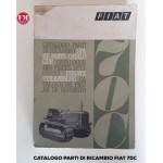 Catalogo parti di ricambio Fiat 70C