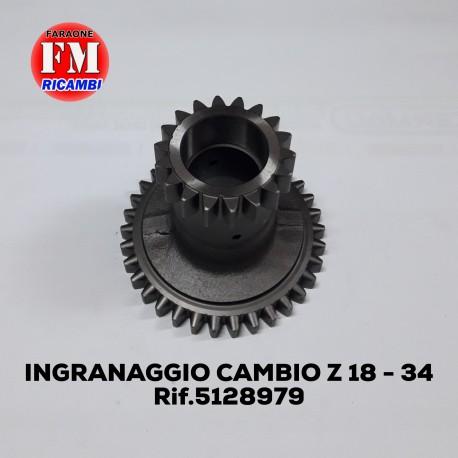 Ingranaggio cambio Z 18 - 34  5128979