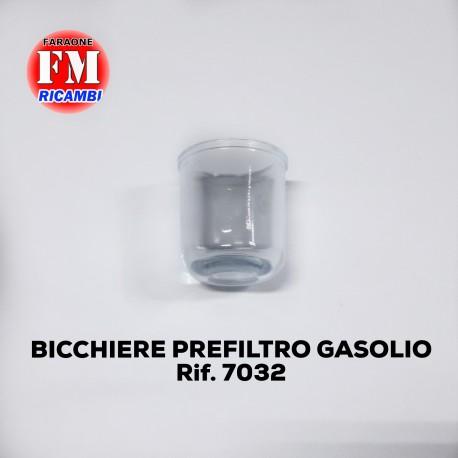 Bicchiere prefiltro gasolio - 7032