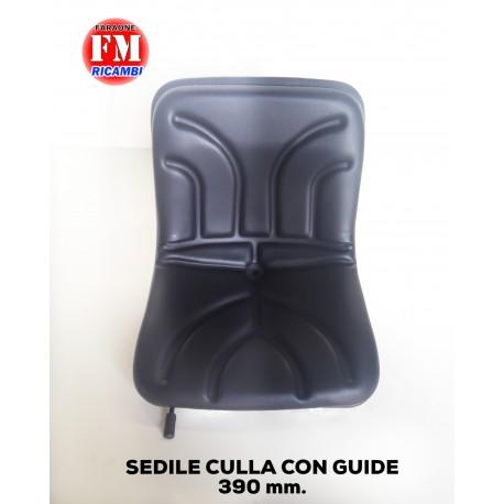 Sedile culla con guide - misura: 390 mm.