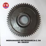 Ingranaggio retromarcia Z. 54 - 590537