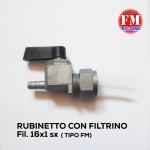 Rubinetto con filtrino ( Tipo FM)