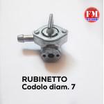 Rubinetto - codolo diam. 7