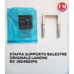Staffa supporto balestre originale Landini