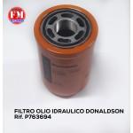 Filtro olio idraulico Donaldson - P763694