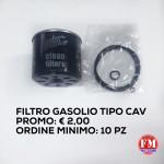 Filtro gasolio tipo cav
