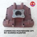 Coperchio posteriore cpt. - 5116950/5126709