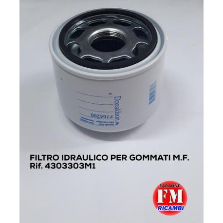 Filtro idraulico per gommati M.F. - 4303303M1