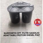 Supporto cpt. filtri gasolio adattabili motori diesel Fiat