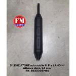 Silenziatore adattabile M.F. e Landini - 3530335M91